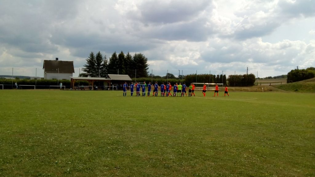 Freundschaftsspiel gegen BSG Wismut Gera II