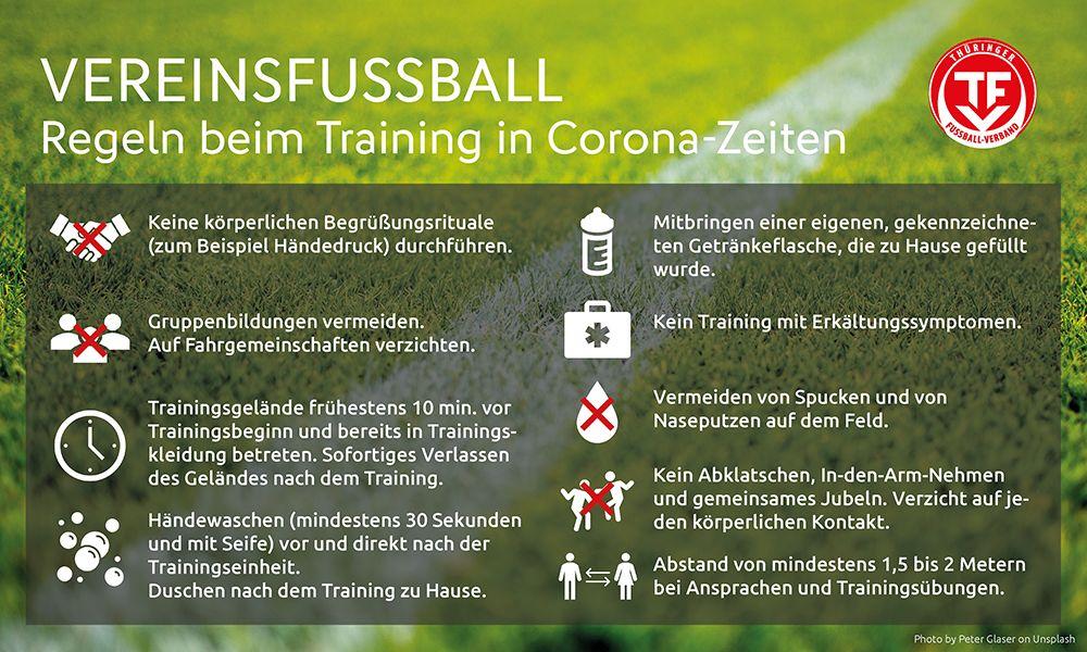 TFV-Regeln Fußballtraining