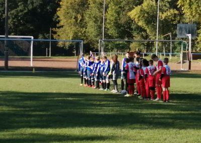 D-Junioren bei der SpG SV 1924 Münchenbernsdorf